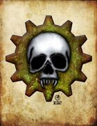 Bree Orlock Designs: Cog Skull 1