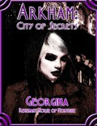 Arkham: City of Secrets - The Undead: Georgina