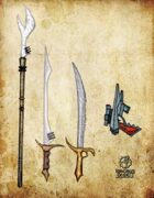 Bree Orlock Designs: Science Fiction Weapons Pack 2