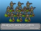 Modern Troops With Assault Rifles Set# 1