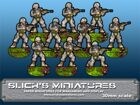 Modern Troops With Assault Rifles Set 3
