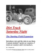 Dirt Track Saturday Night - Starting Field Expansion