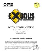 Exodus Post Apocalyptic RPG: Wasteland Adventure #25