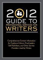 Guide to Professional Services for Writers (2012)