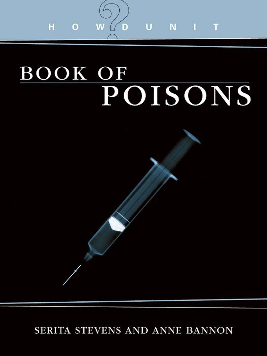 Howdunit  The Book Of Poisons