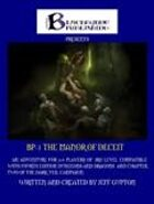 The Manor of Deceit 4E