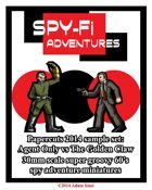Spy-Fi Adventures Sample Set
