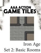 AAA Action  Tile Set  2: Iron Age Basic Rooms