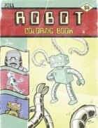Robot Coloring Book 2