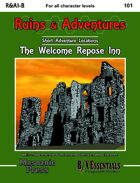 Ruins & Adventures 1: The Welcome Repose Inn (B/X Essentials)