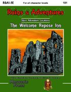 Ruins & Adventures 1: The Welcome Repose Inn (5e)