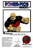 Power Pics Heroes 4 -Strong Guy