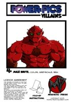 Power Pics Villains 4 -Male Brute