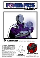 Power Pics Villains 5 -Male Dictator