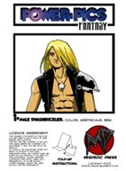 Power Pics Fantasy 1 -Male Swashbuckler