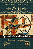 Ancient Worlds: Atisi (Dyslexic-friendly edition)