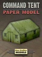 Command Tent Paper Model