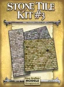 Stone Tile Kit #3 - Dave Graffam Models | Tiles | RPGNow com