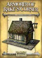 Armorer of Rake's Corner Paper Model