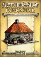 Fletcher's Shop Paper Model