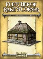 Fletcher of Rake's Corner Paper Model