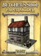 Butcher's Shop Paper Model