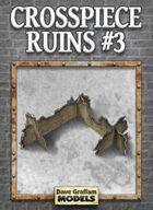 Crosspiece Ruins Set #3 Paper Models
