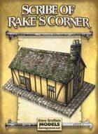 Scribe of Rake's Corner Paper Model