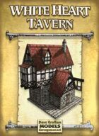 White Heart Tavern Paper Model
