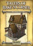 Tavern of Rake's Corner Paper Model
