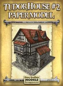 Model of tudor house