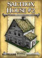 Saltbox House #2 Paper Model