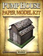 Pump House Paper Model