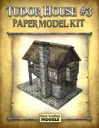 Tudor House #3 Paper Model
