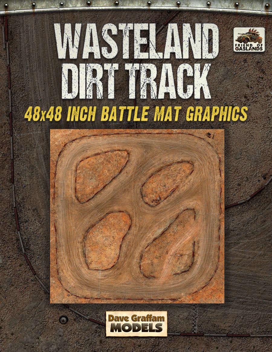 Wasteland Dirt Track Dave Graffam Models Sci Fi Game