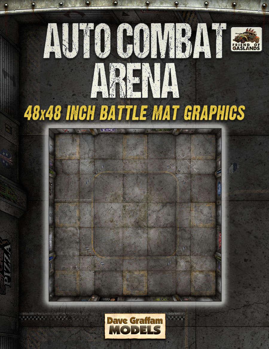 Auto Combat Arena Battle Mat