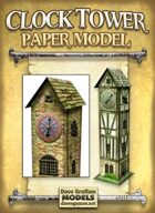 Clock Tower Paper Model