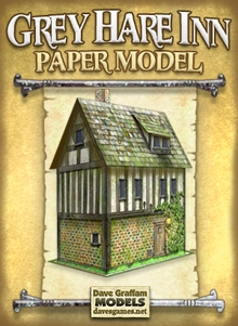 Grey Hare Inn Paper Model