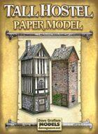 Tall Hostel Paper Model