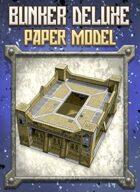 Bunker Deluxe Kit Paper Model