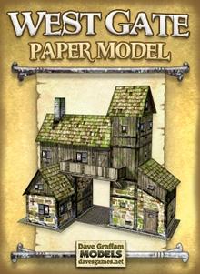 West Gate Paper Model