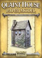 Quaint House Paper Model