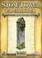 Stone Tower Paper Model