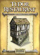 Tudor Restaurant Paper Model