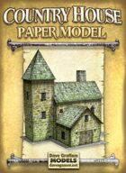 Country House Paper Model