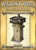 Watch Tower Papercraft Model