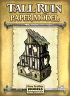 Tall Ruin Paper Model