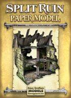 Split Ruin Paper Model