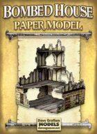 Bombed House Paper Model