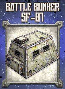 Battle Bunker SF-01 Paper Model - Dave Graffam Models   Sci-Fi    DriveThruRPG com